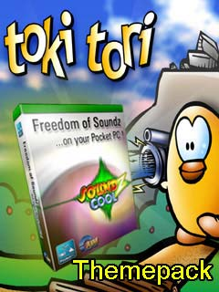 Smartphone TOKI TORI-Themepack for Soundz Cool 1.0