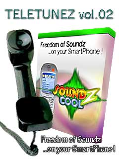 Smartphone TELETUNEZ 2.-Themepack for Soundz Cool 1.0 freeware