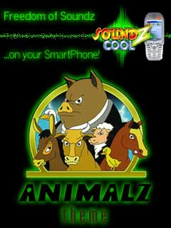 Smartphone AnimalzThemepack for Soundz Cool 1.0