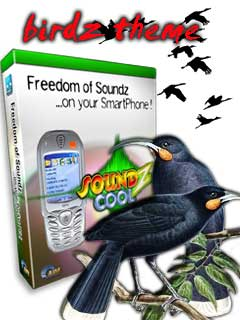 Smartphone Birdz Themepack for Soundz Cool 1.0 freeware