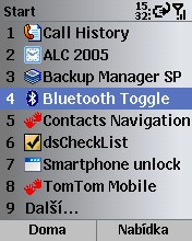 Smartphone Bluetooth Toggle 1.0