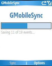 Smartphone GMobileSync 1.1 freeware