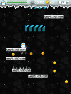 Smartphone Greedy Penguins freeware