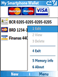 Smartphone My Smartphone Wallet Beta v1.0 freeware