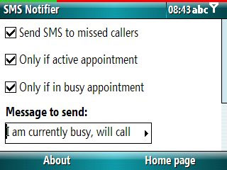 Smartphone SMS Notifier v1.3 freeware