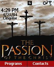 Smartphone The Passion of Christ Home Screen